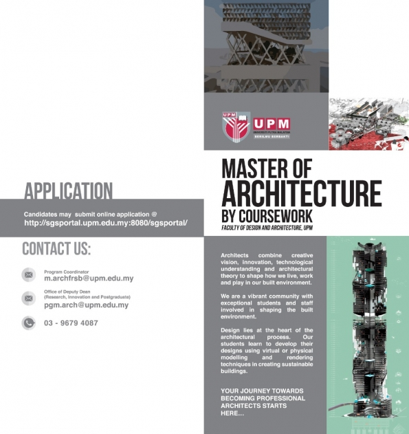 Master of Landscape Architecture Brochure