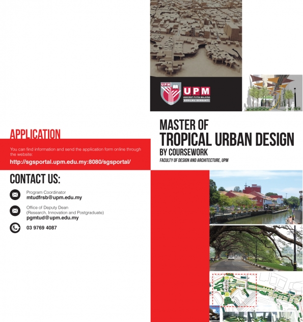 Master Of Tropical Urban Design By Coursework